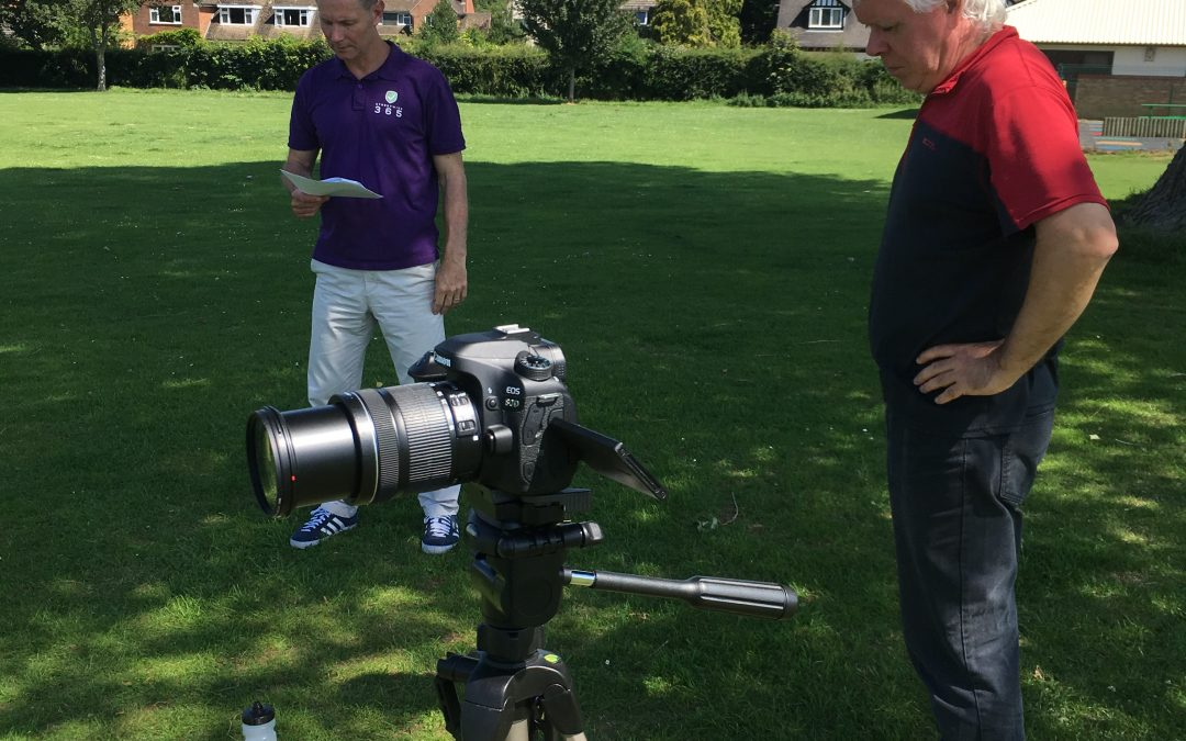 Streetwise365 Team on location filming new videos during summer break